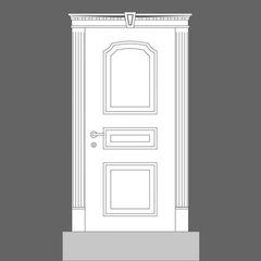 Дверна панель Orac Decor Door Inspiration 6