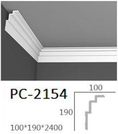 Гладкий карниз Perimeter PC-2154