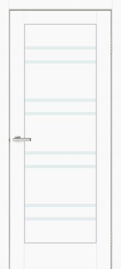 Двери Omis Rino 01 G ПВХ белый silk matt