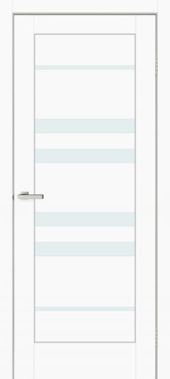 Двери Omis Rino 06 G ПВХ белый silk matt