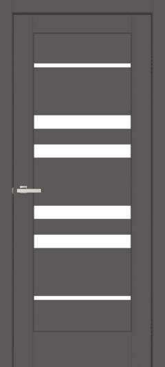 Двери Omis Rino 06 G ПВХ графит silk matt