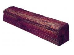 Декоративная балка Decowood Рустик EQ 006 (2м) classic червона 12х12