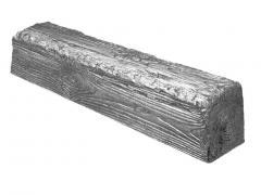Декоративная балка Decowood Рустик EQ 006 (4м) classic сіра 12х12