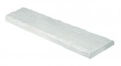 Декоративная панель Decowood Рустик ET 305 (2м) classic белая 19х3,5