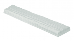 Декоративная панель Decowood Рустик ET 306 (3м) classic белая 12х3,5