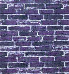 Самоклеющиеся 3D панель Sticker wall Екатеринославский фиолетовый Id 41