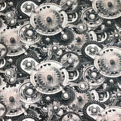 Самоклеющиеся 3D панель Sticker wall под кирпич Часы Id 30