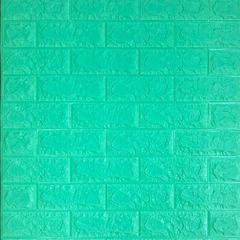 Самоклеющиеся 3D панель Sticker wall под кирпич Зеленая трава Id 12