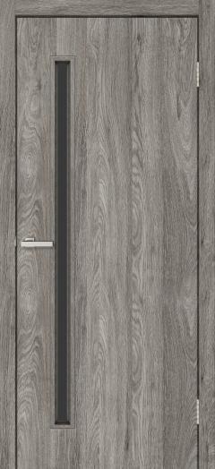Двери Omis T01 ЧС NL дуб Денвер