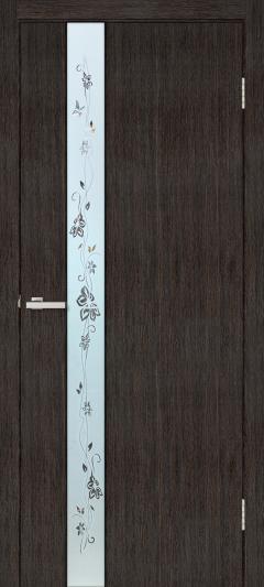 Двери Omis Зеркало 2 СС+КР венге