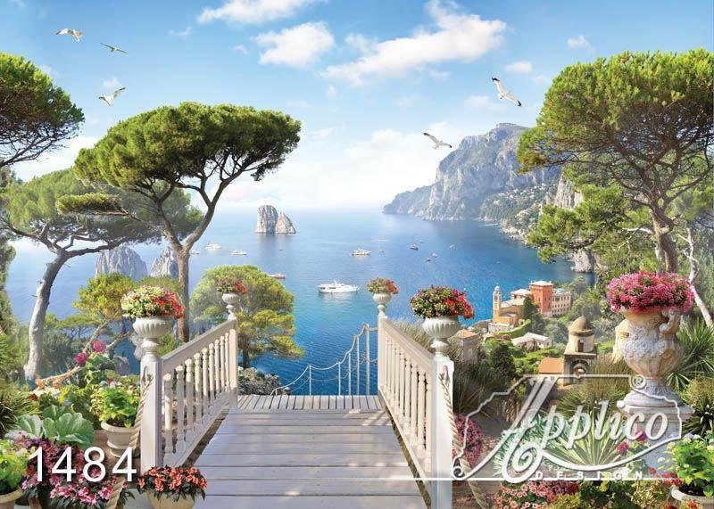 фрески на стену панорамные фото природы #10