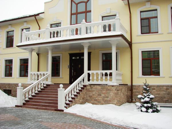 Фасадные декоры