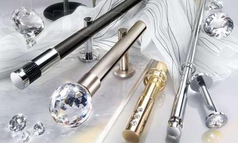 Разновидности металических карнизов для штор